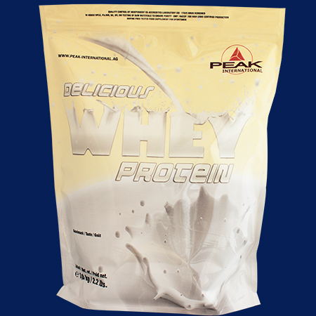 Deliciuos Muscle Whey Protein 1000g Beutel