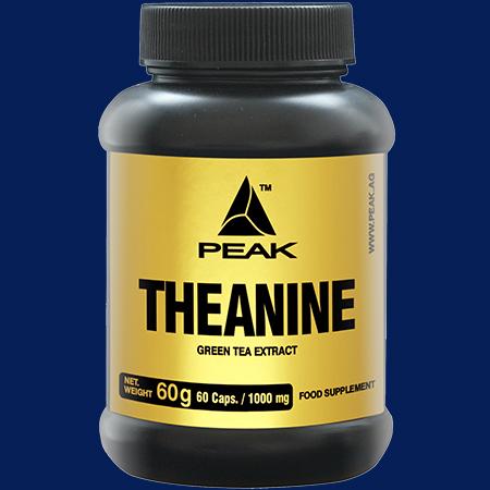 "Peak ""Grüntee Extrakt – Theanine"" 60 Kapseln a 1000mg"