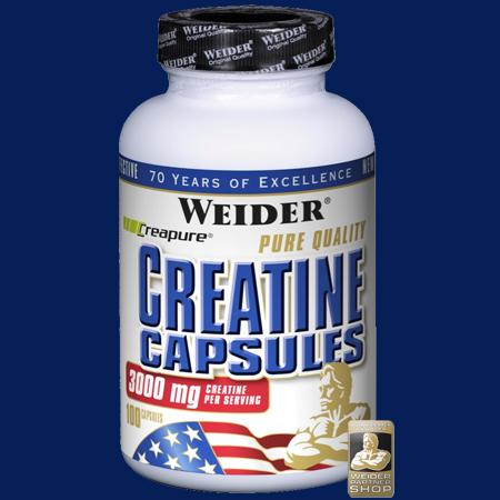 Weider - Pure Quality Creatine Capsules 100 Kapseln