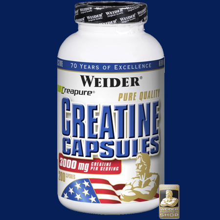 Weider - Pure Quality Creatine Capsules 200 Kapseln