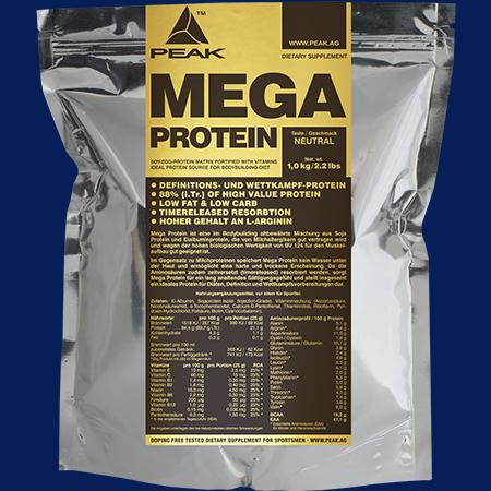 Peak Mega Protein 1000g