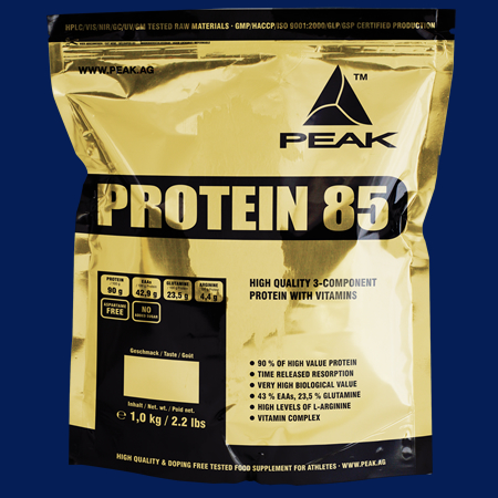 Protein 85 von Peak im 1000g Beutel