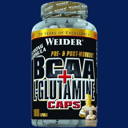 BCAA + L-Glutamine Caps 180 Stück