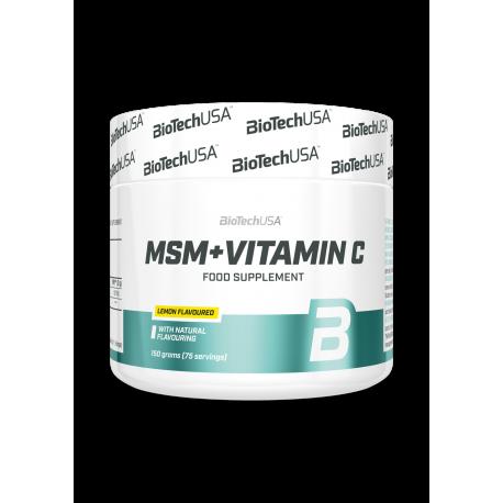 Biotech USA - MSM +Vitamin C ( 150g)