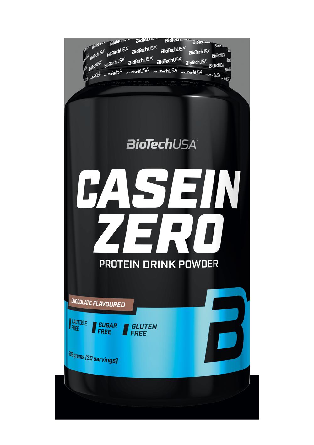 BioTech USA Casein Zero 908g Protein Eiweiss zuckerfrei Muskelaufbau Diät Gym