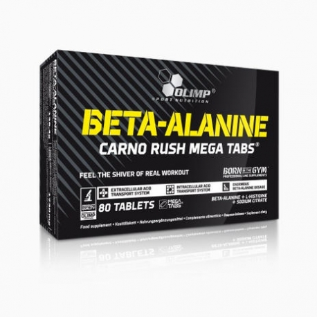 Olimp - Beta Alanine Carno Rush ( 80 Tabl)