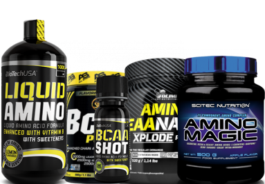 Aminosäuren und BCAA Supplements