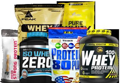 Eiweiß und Protein Supplements
